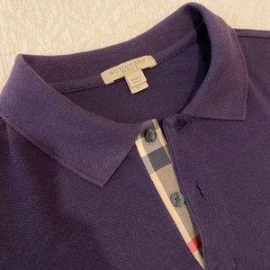 Burberry Brit long sleeve knit shirt